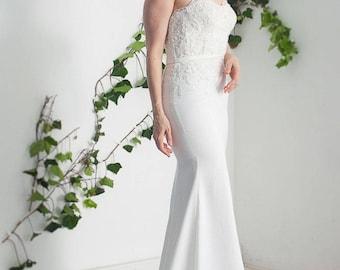 Iris corset Wedding Dress