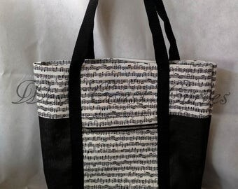 Music Note Market Bag