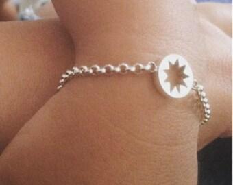 Children's 9 Pointed star Bahá'í bracelet