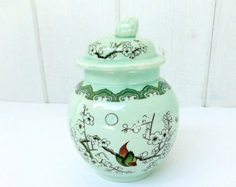 Vintage Sugar Bowl Adams Calyx Ware English Ironstone
