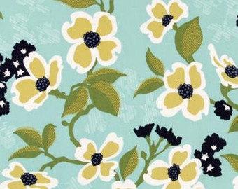 Joel Dewberry Modern Meadow Dogwood Bloom quilting cotton Fabric Canada/ half yard