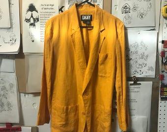 Vintage DKNY Linen Blazer