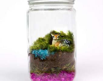 SALE // Terrarium // Deer // 60% OFF SALE!!