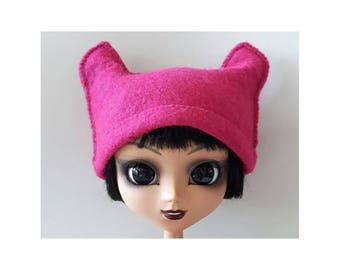 Pink Pussy hat for Pullip