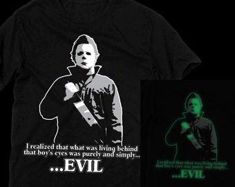 Halloween: Michael Myers Glow in the Dark T-shirt