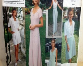 Vogue Pattern 1118 Perry Ellis American Designer, Dress, etc. Size 6-8-10 (4469)
