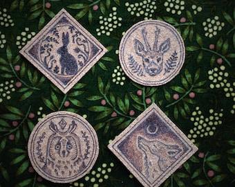 Woodland animals stickerpack cork