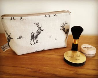 Stag cosmetic bag