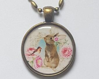 Bunny Pendant Bunny Necklace