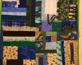 Woods and Waters Fidget Quilt / Sensory Blanket
