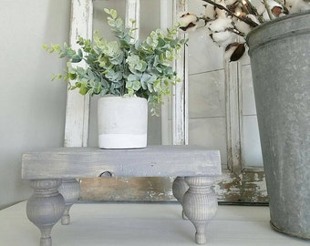 Gray Farmhouse Tray