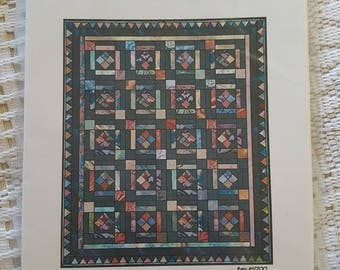Blackberry Sherbet Cabin Fever Crafts Quilt or Table Accessorie Pattern by Barbara M. Sledlecki Item #51700