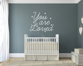 You Are Loved Valentine's Day Wall Quote