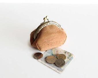 Cork Coin Purse - Small Cork Pouch