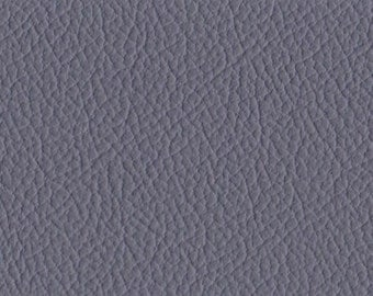 Full Italian Leather Hide, Colour Slate Grey.