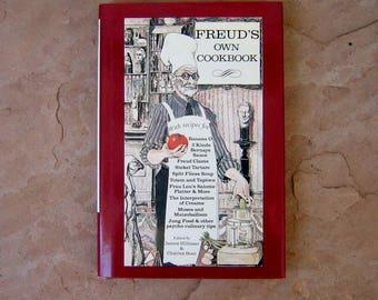 Freud's Own Cookbook, 1987 Vintage Cookbook
