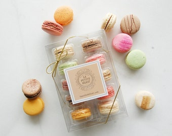 Ten piece Macaron Gift Box
