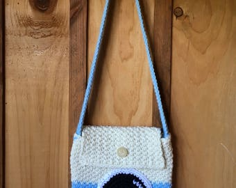 Crochet Camera Bag