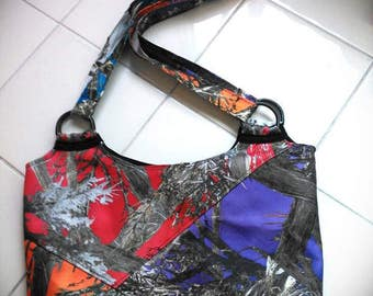 Patchwork Camo Purse