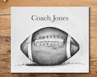 Football Coach Gift - Teacher Gift - Gym Teacher Gift - PE Teacher Gift - End of the Year Gift - Football Team Gift