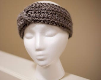 Cara - crochet women's headband ear warmer
