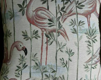 Square cushion cotton pink FLEMINGS