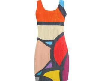 Pop Art Moderne dress