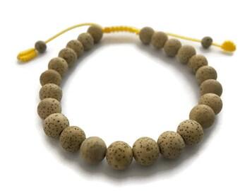 Tibetan Lotus Seed Wrist Mala Adjustable Bracelet