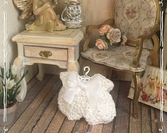 1/12 baby dress and shoes miniature-dolls house-hand made by Bea