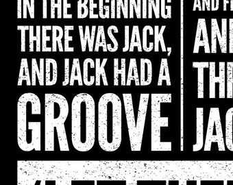 House music print in the beginning there was jack by for Jack house music