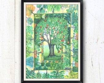 Trees Mandala