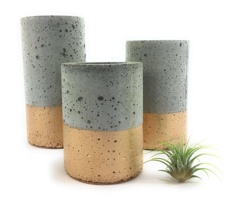 Cement planter | Etsy