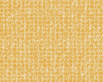 Minimalista Script Honeycomb by AGF Studio for Art Gallery Fabrics, 1/2 yard, MNL-306