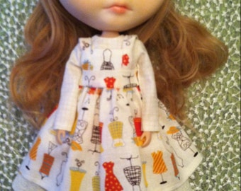 Sewing Time Dress and Apron