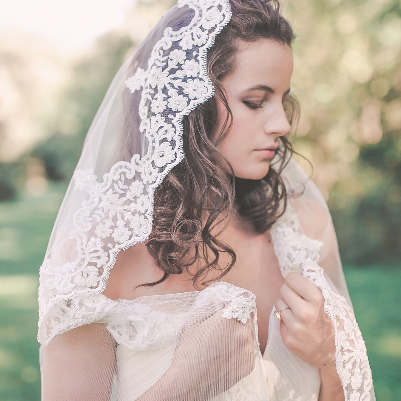 Headpieces For Wedding Veils: Wedding Veils & Bridal Accessories By NoonOnTheMoon On Etsy