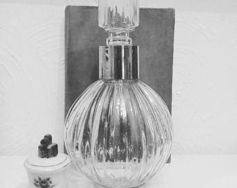 Stunning vintage shop perfume display bottle large