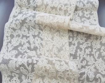 Vintage French Alencon Lace Trim  #5