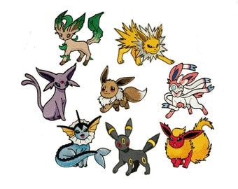 Eevee Evolution Patch- Choose One!