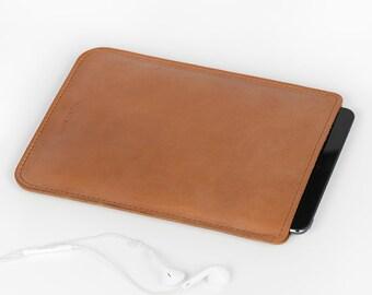 Leather Sleeve - iPad Mini Case - iPad Mini Cover - iPad Mini Leather - iPad Sleeve