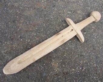 Children's wooden sword