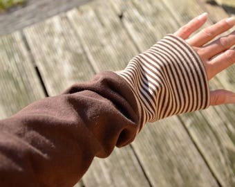 Arm warmers Drygloves Brown