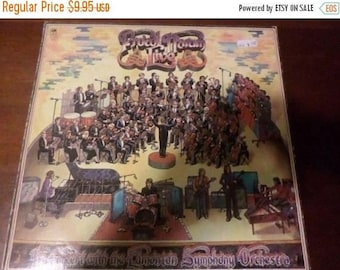 Save 30% Today Vintage 1972 LP Record Procol Harum Live Very Good Condition A&M Records 5249