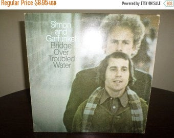 Save 30% Today Vintage 1970 LP Record Simon and Garfunkel Bridge Over Troubled Water Very Good Condition 7317