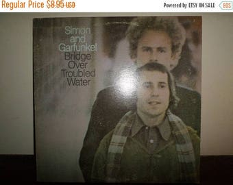 Save 30% Today Vintage 1970 LP Record Simon and Garfunkel Bridge Over Troubled Water Very Good Condition 11087