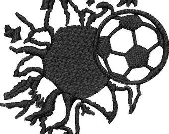 Bursting Soccer Ball