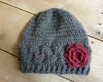 Braided Wool Hat