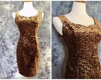 90s Contempo Casuals Velvet Dress