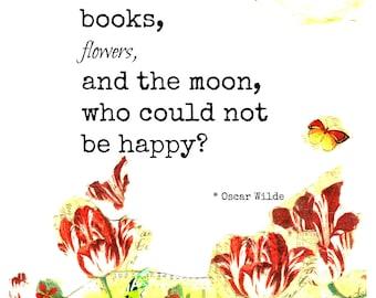 Oscar Wilde Quote. 8x10 Print.