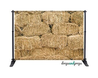 Hay Bales - Photography Backdrop