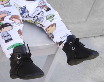 Black Petite Combat Boots